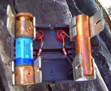 The fuses in your air conditioning are there for safety from toomuch electricity.