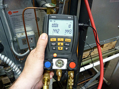 Digital Freon Gauges used for Freon testing and Refrigerant testing