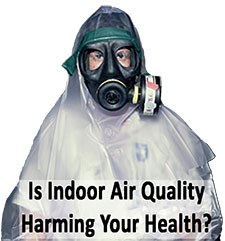 Is your indoor air quality bad? Call us and we can test the particulate count for you.
