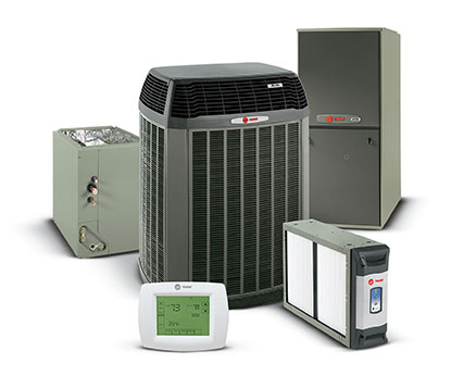 Trane air conditioning and heating
